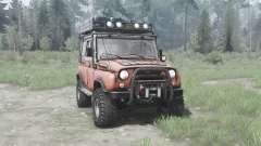 UAZ 31514 1993 Off-road for MudRunner