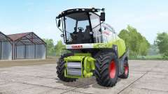Claas Jaguar 850 dual front wheels for Farming Simulator 2017