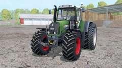 Fendt 820 Vario TMS dual rear wheels for Farming Simulator 2015