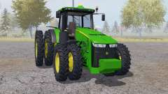 John Deere 8360R double wheels for Farming Simulator 2013
