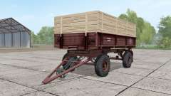 2ПТС-4 ninasimone-dark red for Farming Simulator 2017
