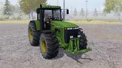 John Deere 8410 dual rear wheels for Farming Simulator 2013