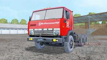 KamAZ 5410 with полуприцепơм for Farming Simulator 2015