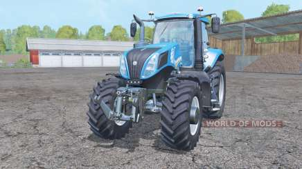 New Holland T8.435 double wheels for Farming Simulator 2015