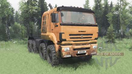 KamAZ 65228 v2.0 for Spin Tires
