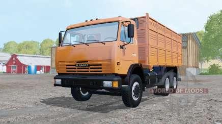 KamAZ 45143-trailer NefAZ 8560 for Farming Simulator 2015