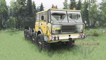 Tatra T813 TP 8x8 1967 Kings Off-Road 2 winter for Spin Tires