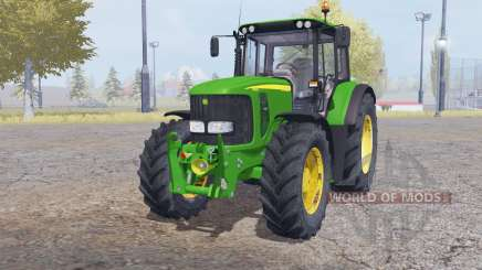 John Deere 6620 front loader for Farming Simulator 2013