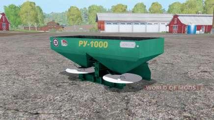 RU-1000 for Farming Simulator 2015