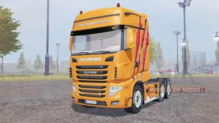 Scania R700 Evo Cedric Transports Edition for Farming Simulator 2013