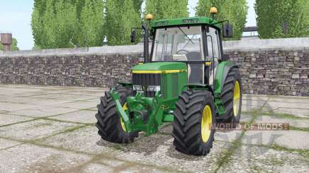 John Deere 6410 wheels selection for Farming Simulator 2017