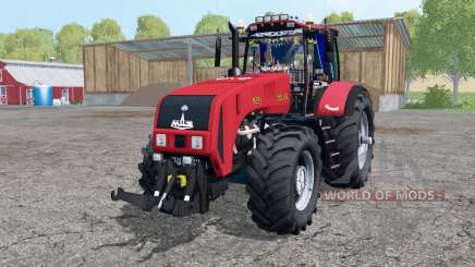 Belarus 3522 twin wheels for Farming Simulator 2015