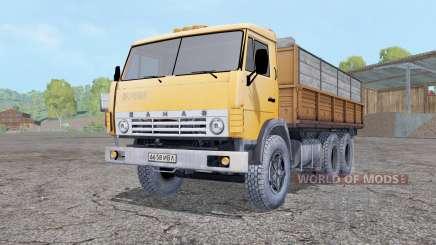 KamAZ 55102 with a trailer for Farming Simulator 2015