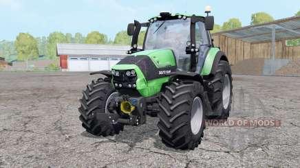Deutz-Fahr Agrotron 6190 TTV wheels weights for Farming Simulator 2015