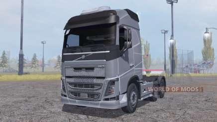 Volvo FH16 6x4 Globetrotter cab 2012 for Farming Simulator 2013