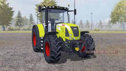 Claas Arion 640 front loader for Farming Simulator 2013