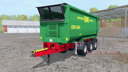 Hᶏwe CSW 5000 for Farming Simulator 2015