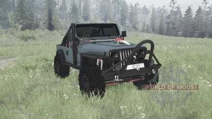 Jeep Wrangler (YJ) 1990 for MudRunner