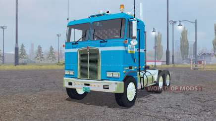 Kenworth K100 Flat Top 1978 for Farming Simulator 2013