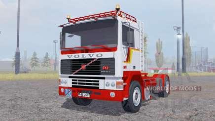 Volvo F12 Intercooler tractor for Farming Simulator 2013