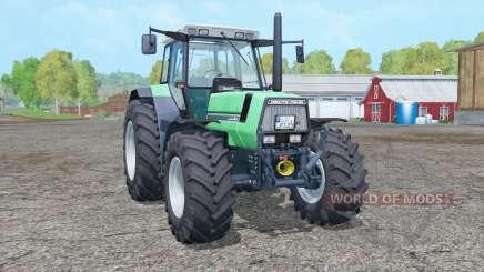 Deutz-Fahr AgroStar 6.61 toggle fenders for Farming Simulator 2015