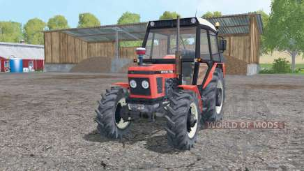 Zetor 7745 moving elements for Farming Simulator 2015