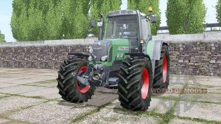 Fendt 820 Vario TMS wheels selection for Farming Simulator 2017