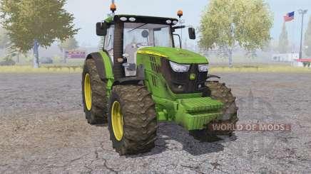 John Deere 6170R front loader for Farming Simulator 2013