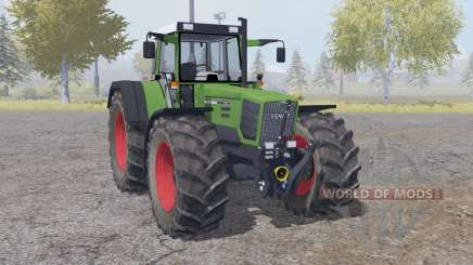 Fendt Favorit 824 double wheels for Farming Simulator 2013