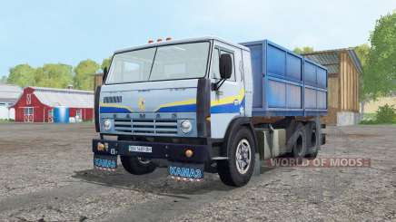 KamAZ 5320 light grey blue for Farming Simulator 2015