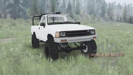 Toyota Hilux Single Cab for MudRunner
