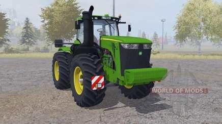 John Deere 9560R twin wheels for Farming Simulator 2013