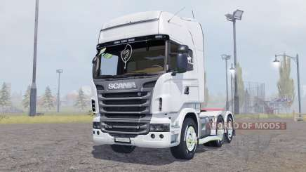 Scania R730 V8 Topline v2.0 for Farming Simulator 2013