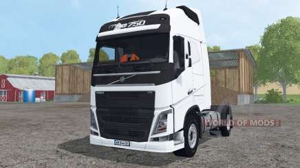 Volvo FH16 750 Globetrotter XL for Farming Simulator 2015