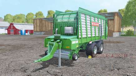 Bergmann Carex 38S with increased yield for Farming Simulator 2015