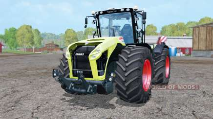 Claas Xerion 4000 Trac VC double wheels for Farming Simulator 2015