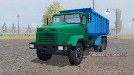 KrAZ 6130С4 for Farming Simulator 2013