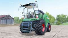Fendt Katana 85 wheels selection for Farming Simulator 2017