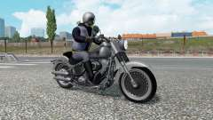 Motorcycle traffic v2.3 for Euro Truck Simulator 2