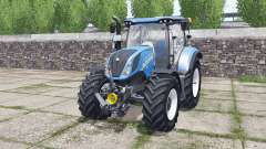 New Holland T6.140 Michelin tires for Farming Simulator 2017