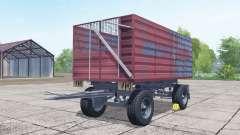 Conow HW 80 desaturated red for Farming Simulator 2017