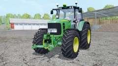 John Deere 7530 Premium front loadeᶉ for Farming Simulator 2015