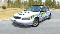 Ibishu Pessima Australian Police v0.3 for BeamNG Drive