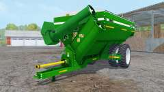 Kinze 1050 green row crop duals for Farming Simulator 2015