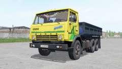 KamAZ 5320 with a trailer NEPA 8560 for Farming Simulator 2017