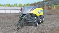 New Holland BigBaler 1290 wet balᶒ for Farming Simulator 2015