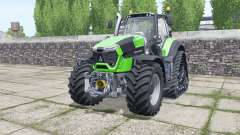 Deutz-Fahr Agrotron 9340 TTV crawler for Farming Simulator 2017