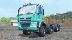 Tatra Phoenix T158 8x8 hooklift for Farming Simulator 2015