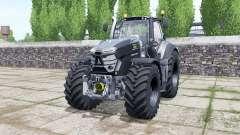 Deutz-Fahr Agrotron 9310 TTV Black Edition for Farming Simulator 2017