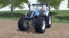 New Holland T7.290 Heavy Dutƴ for Farming Simulator 2017